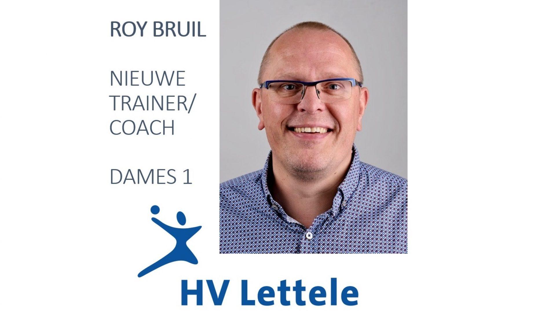 Roy Bruil nieuwe trainer-coach HV Lettele DS1.